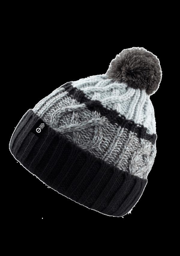 Pletený kulich - šedý